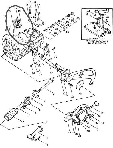 ford 1710 tractor parts pto diagram  ford  free image