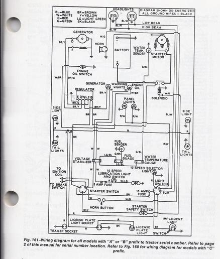 ford 2000 tractor wiring diagram | tractor parts diagram and in, Wiring diagram