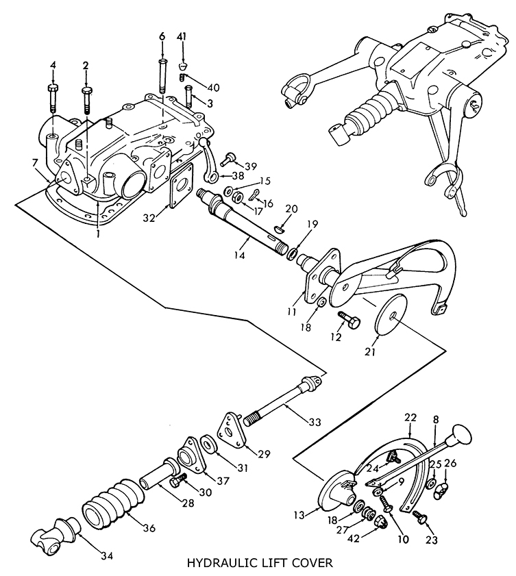 Ford 8N 9N 2N Assemblies throughout 8N Ford Tractor Parts Diagram