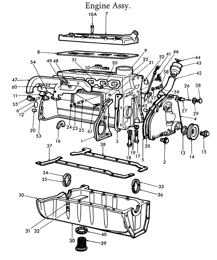 Ford 9N Tractor Parts Diagram | Tractor Parts Diagram And Wiring with 8N Ford Tractor Parts Diagram