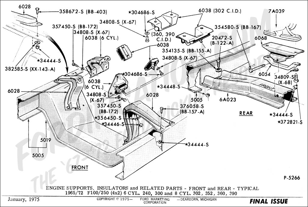 1997 Ford F250 Parts Diagram