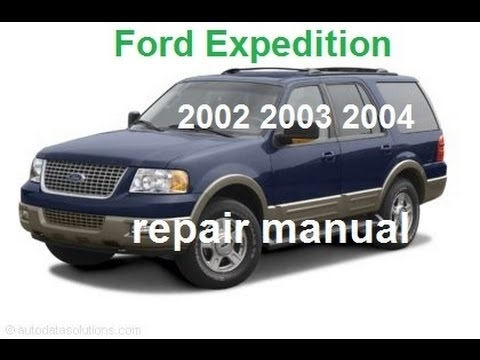 Ford Expedition 2002 2003 2004 Service Repair Manual - Youtube intended for 2003 Ford Expedition Parts Diagram