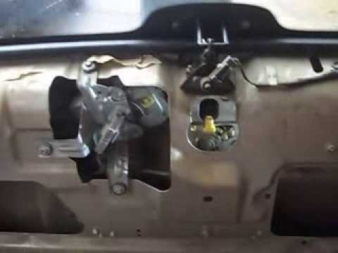 Ford Explorer Xlt 2001 Lift Gate Malfunction - Youtube with 2000 Ford Explorer Parts Diagram