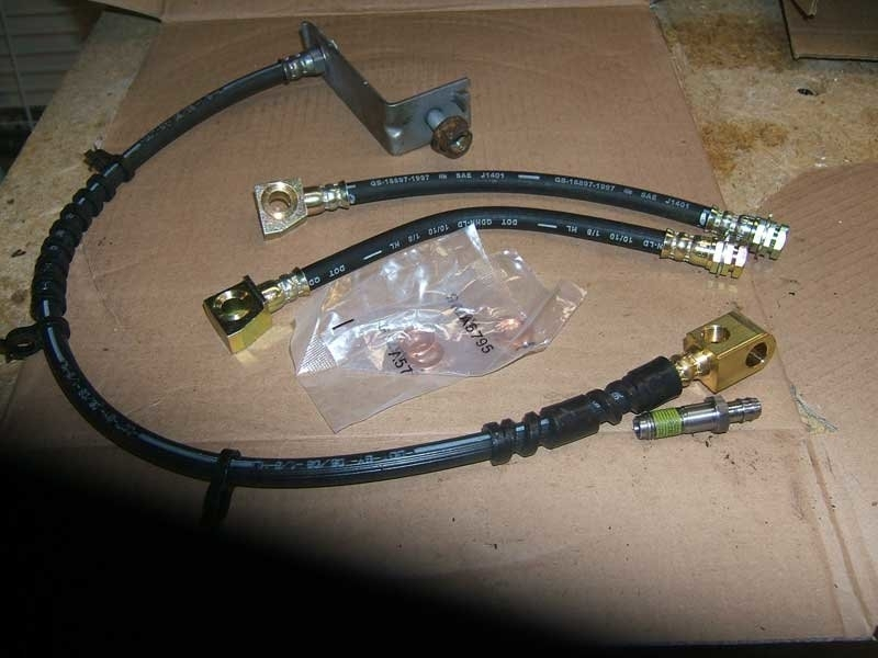 Ford F150 F250 How To Replace Brake Line - Ford-Trucks with 2001 Ford F150 Parts Diagram