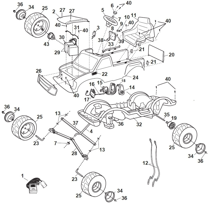 Ford F150 Body Parts Diagram on 2003 ford f 150 fuse box diagram