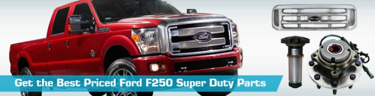 Ford F250 Super Duty Parts - Partsgeek for 1997 Ford F250 Parts Diagram