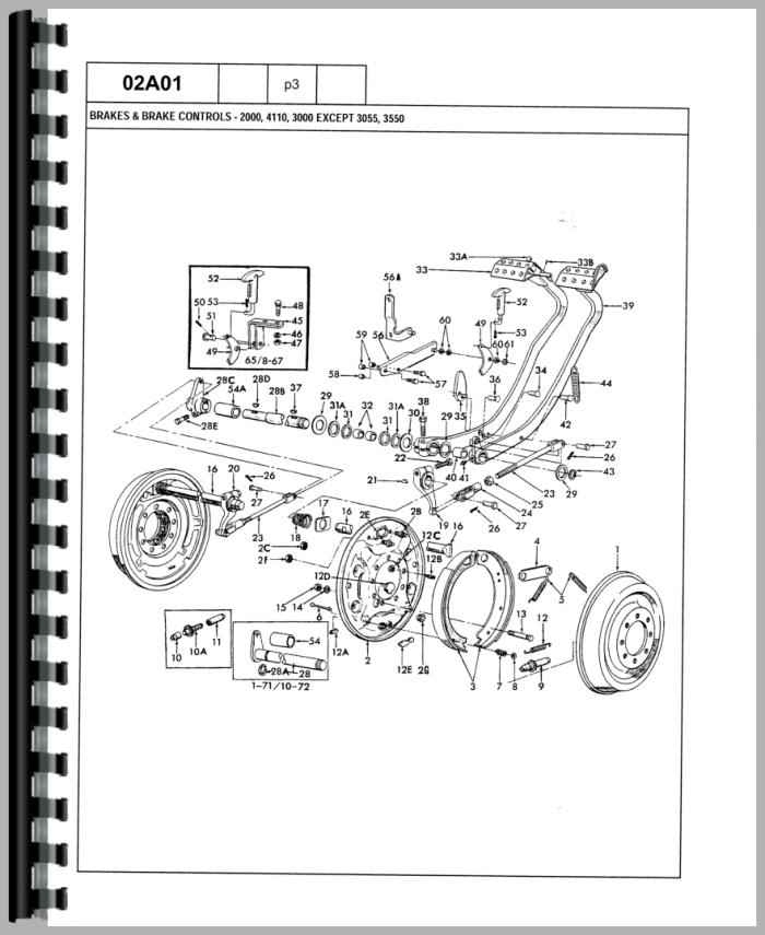 ford 3600 tractor parts diagram automotive parts diagram ford 3400 tractor wiring diagram ford 3600 tractor ignition switch wiring diagram