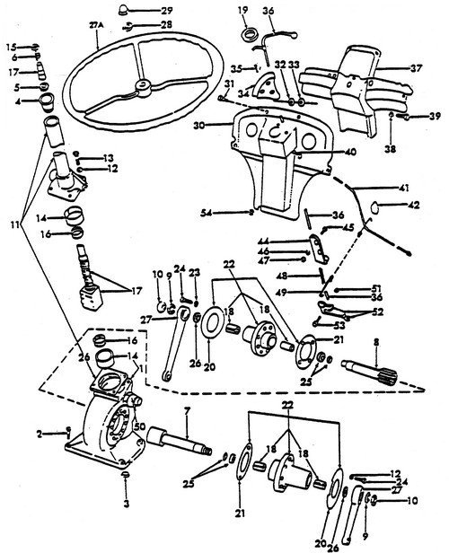 Ford 3000 Tractor Parts Diagram Automotive Parts Diagram