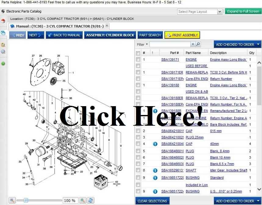 Ford Tractor Parts - Online Parts Store For Tractors regarding Ford Oem Parts Diagram Online