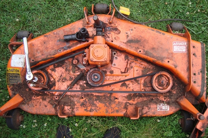 G4200 With Rc44-G Deck - Kubota Tractor Forum - Gttalk pertaining to Kubota Mower Deck Parts Diagram