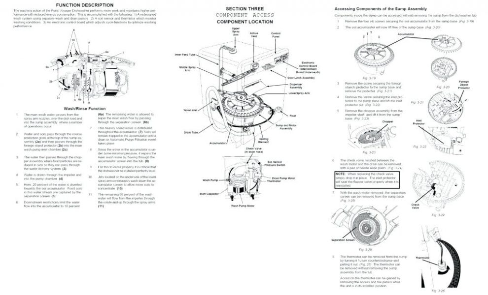 ge nautilus dishwasher wiring diagram