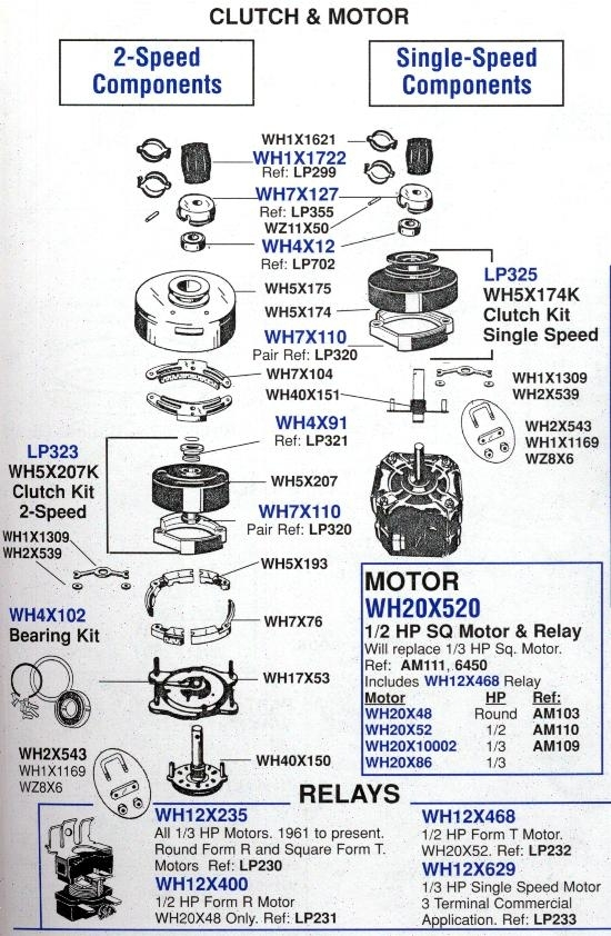 Ge Older Style Washers | Appliance Aid inside Ge Profile Washer Parts Diagram