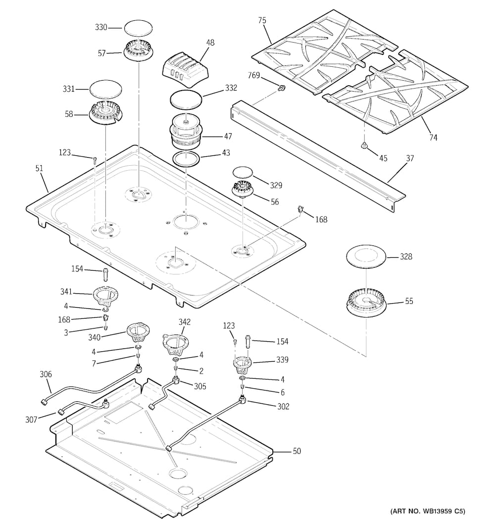 Ge Xl44 Gas Range Parts Diagram | Tractor Parts Service And Repair inside Abu Garcia Silver Max Parts Diagram