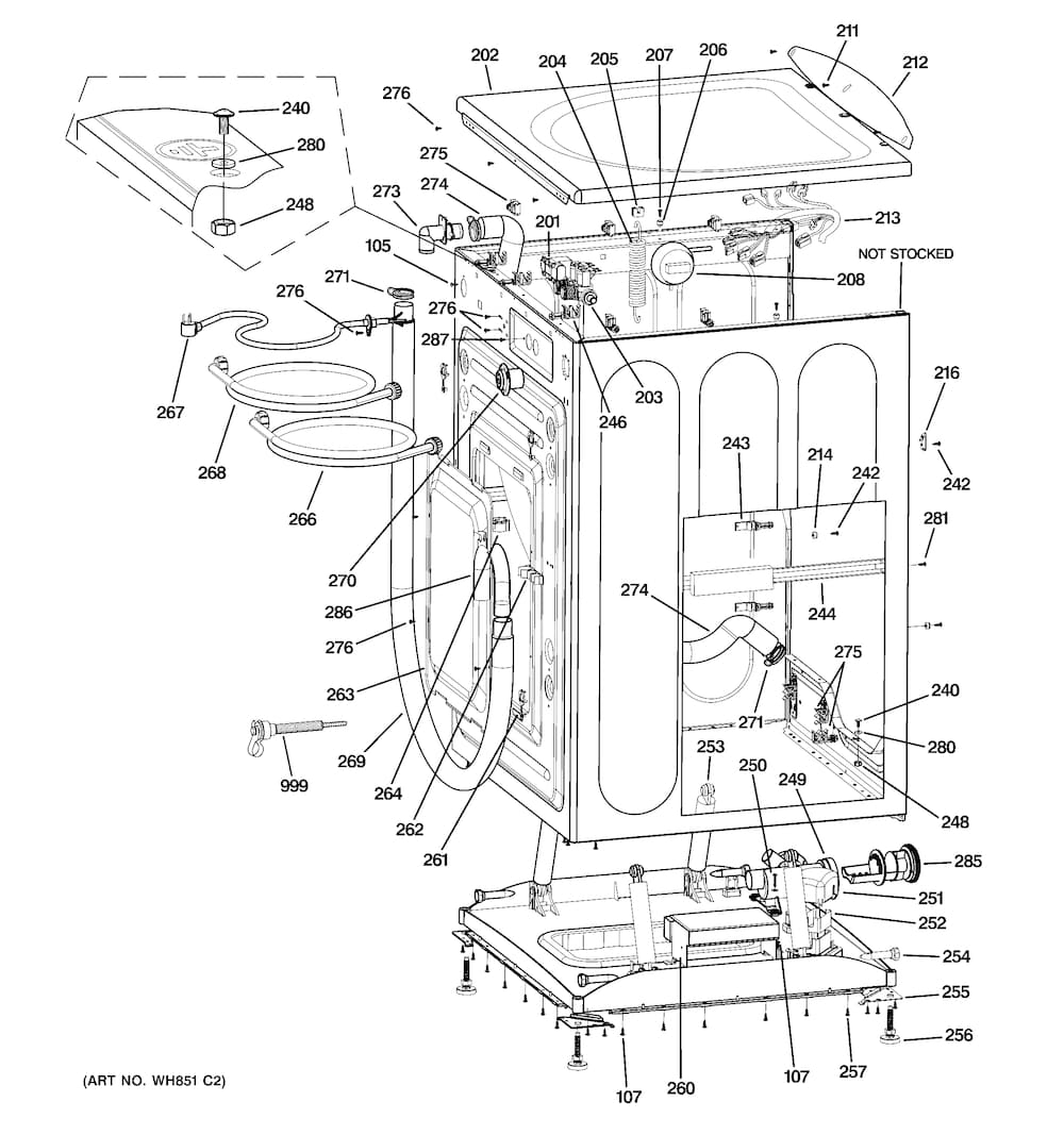 General: General Electric Washer Parts Diagram. General. Free for Frigidaire Front Load Washer Parts Diagram