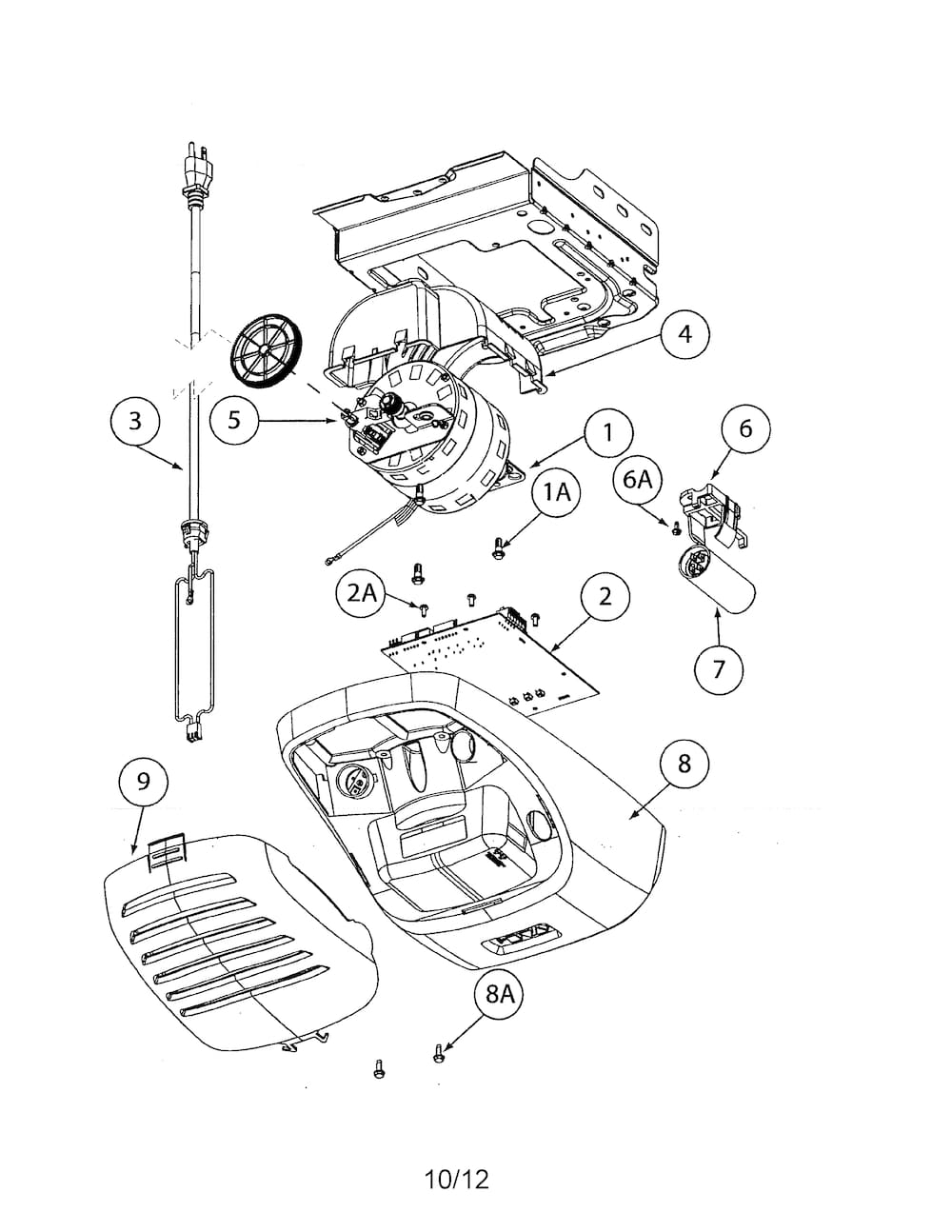 Genie Garage Door Opener Parts | Model 2562 | Sears Partsdirect regarding Genie Garage Door Opener Parts Diagram