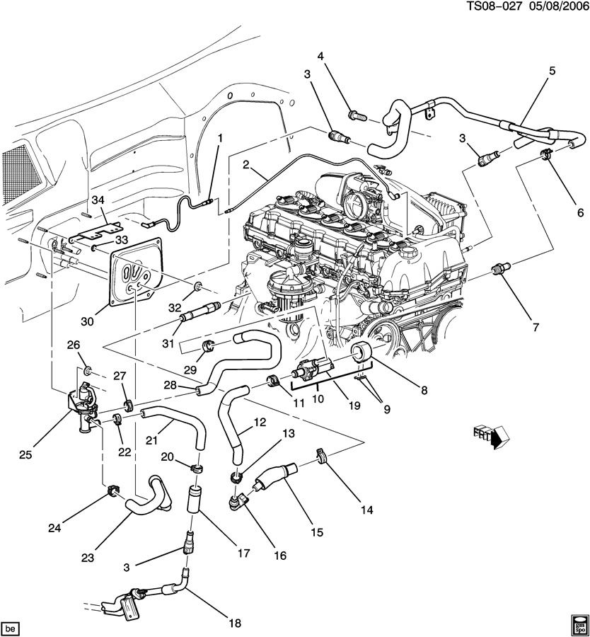 2002 Chevy Trailblazer Parts Diagram