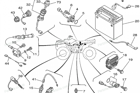 Yamaha Raptor 350 Cdi Box on 2004 yamaha warrior 350 wiring diagram