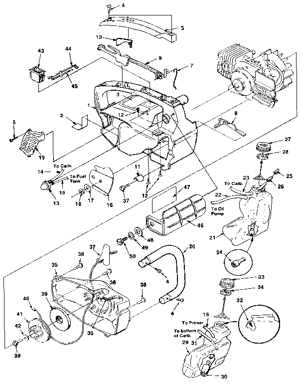 Homelite Chain Saw Parts | Model Super2 | Sears Partsdirect pertaining to Homelite Super 2 Parts Diagram