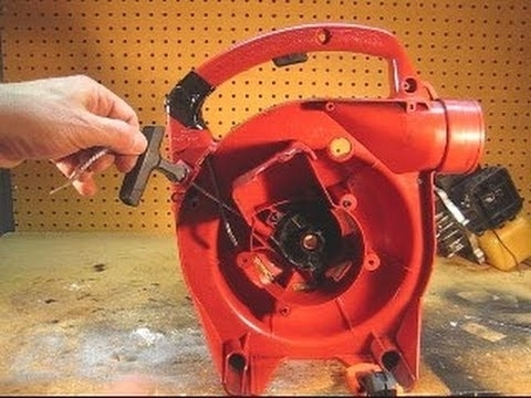 Homelite Leaf Blower Starter Pull Cord Replacement - Youtube throughout Homelite Leaf Blower Parts Diagram