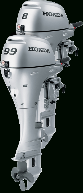 Honda Bf8 And Bf9.9 Outboard Engines | 8 And 9.9 Hp 4 Stroke with Honda Outboard Motor Parts Diagram