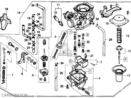 1985 Honda Rebel 250 Headlight Wiring Diagram