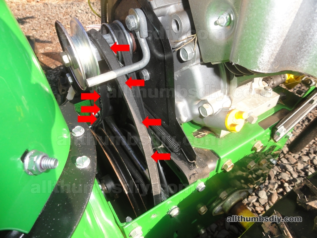 How To Change The Auger Belt For John Deere 1330Se Snow Blower with regard to John Deere 826 Snowblower Parts Diagram