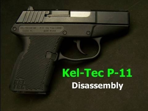 How To Disassemble The Kel-Tec P-11 9Mm Pistol - Youtube with regard to Kel Tec P11 Parts Diagram
