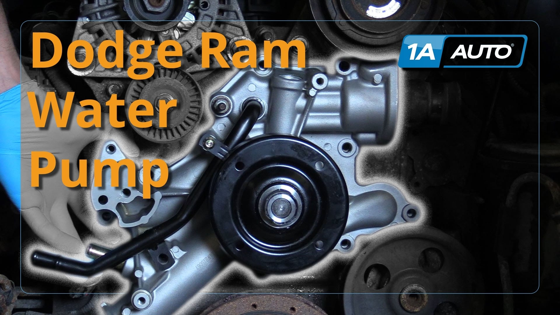 How To Install Replace Water Pump 2008 Dodge Ram 5.7L Buy Quality for 2004 Dodge Ram 1500 Parts Diagram