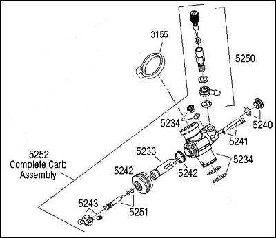 How To Rebuild The Trx Racing Carburetor | Traxxas within Traxxas Revo 3.3 Parts Diagram