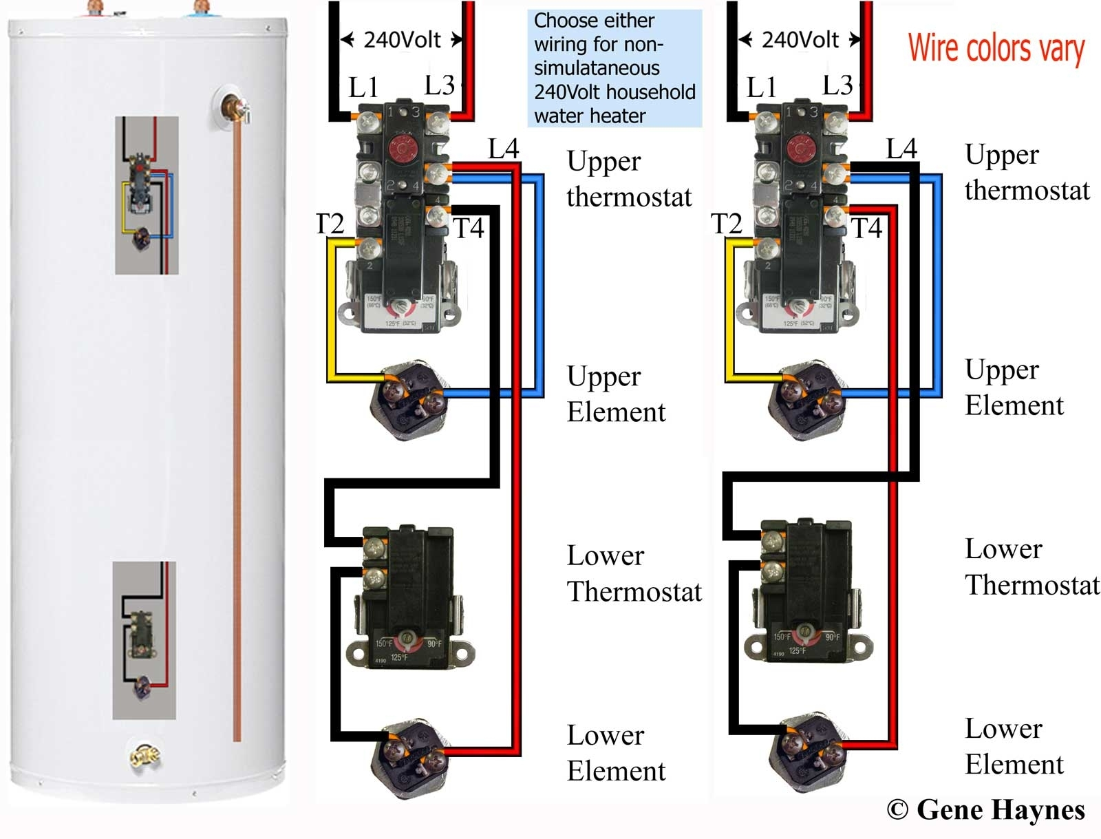 How To Select And Replace Thermostat On Electric Water Heater inside Electric Hot Water Heater Parts Diagram
