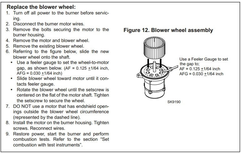 How To Troubleshoot A Beckett Oil Burner | Wet Head Media regarding Beckett Oil Burner Parts Diagram