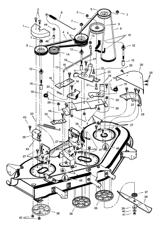 huskee riding mower belt diagram    huskee    lawn tractor parts    diagram    automotive parts     huskee    lawn tractor parts    diagram    automotive parts