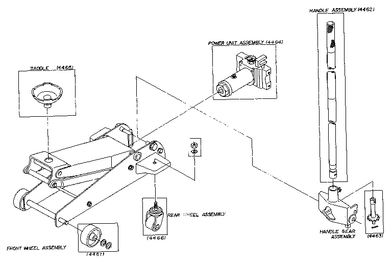 Hydraulic Jack Schematic Diagram