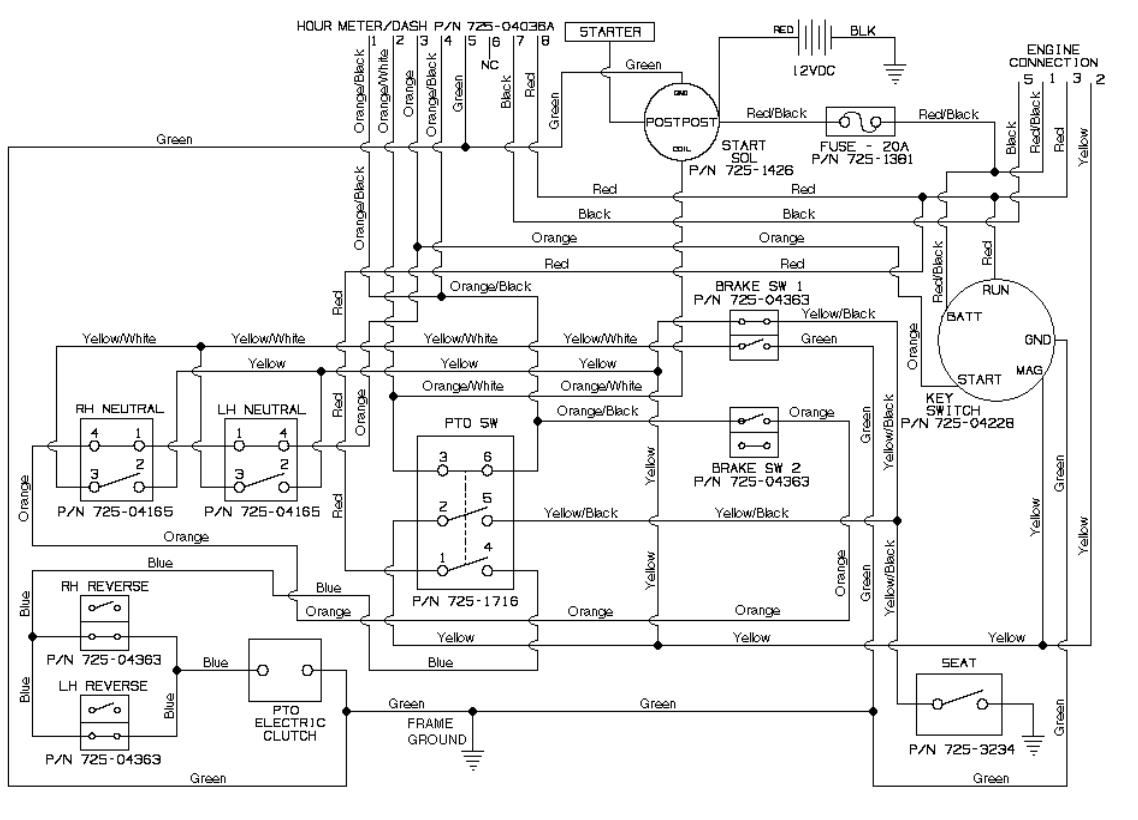 cub cadet rzt 50 parts diagram | automotive parts diagram ... 2166 cub cadet wiring diagram