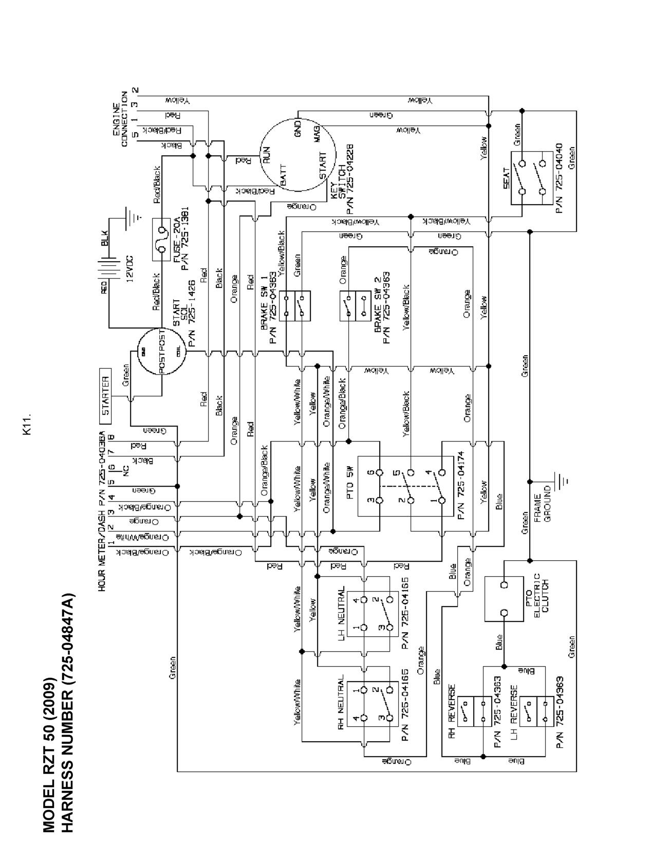 i have a cub cadet rzt 50 zero turn it will not start nor with regard to cub cadet rzt 50 parts diagram cub cadet 1170 wiring diagram mtd cub cadet wiring diagram cub cadet rzt22 wiring diagram at honlapkeszites.co