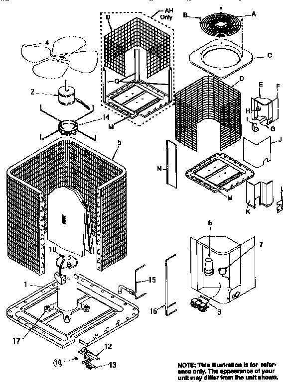 Icp Central Air Conditioner Parts | Model Ca9048Vkc1 | Sears pertaining to Central Air Conditioner Parts Diagram