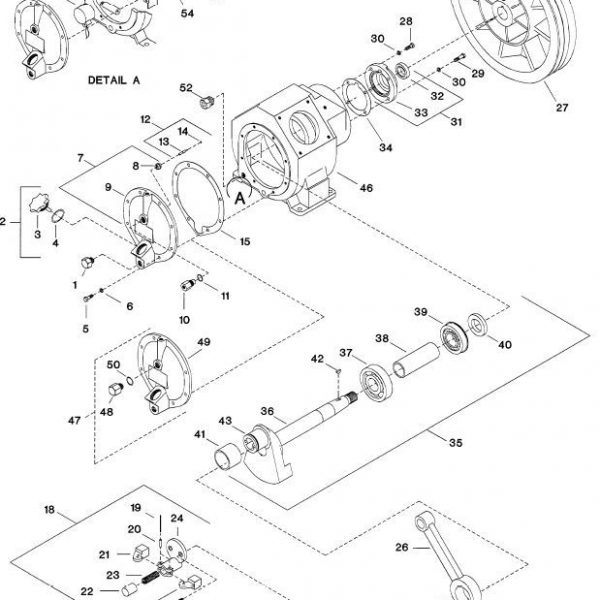Ingersoll Rand # 95213971 Ball Bearing With Snap Ring Air for Ingersoll Rand Compressor Parts Diagram