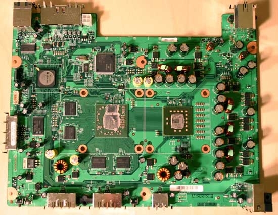 Inside Microsoft's Xbox 360 - A Tour Of The 360's Motherboard in Xbox 360 Diagram Of Parts