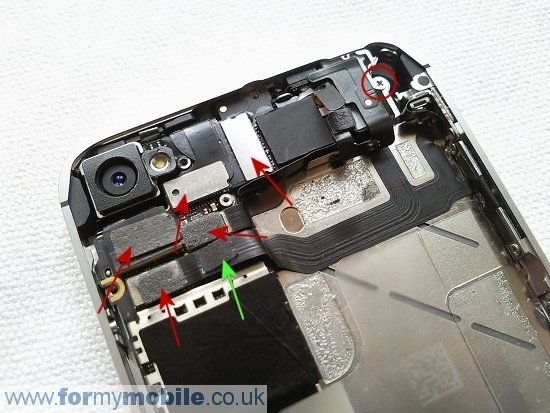 Iphone 4S Disassembly, Screen Replacement And Repair inside Iphone 4S Internal Parts Diagram