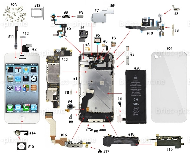 Iphone 6 Schematic Diagram Pdf – The Wiring Diagram – Readingrat within Iphone 4S Internal Parts Diagram