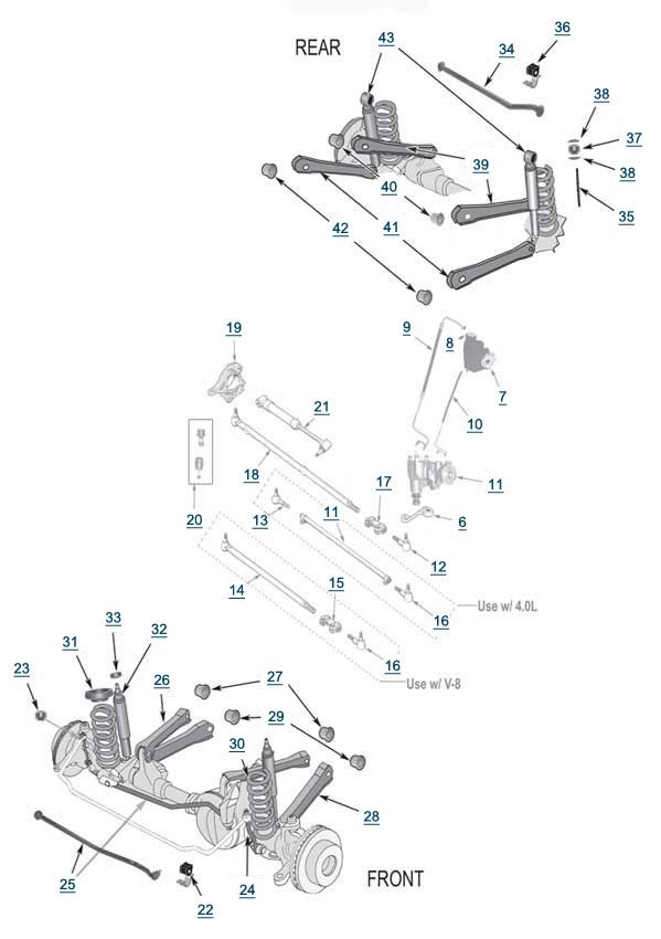 Front End Suspension Parts Diagram Automotive Parts