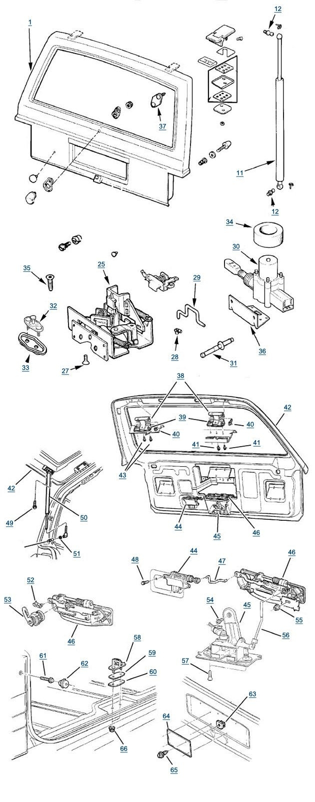 1999    Jeep    Grand    Cherokee    Parts    Diagram      Automotive Parts