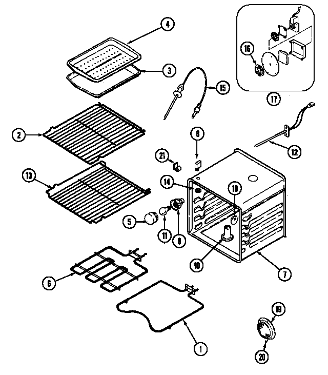 Jenn-Air Wm30460W Electric Wall Oven Timer - Stove Clocks And inside Jenn Air Oven Parts Diagram
