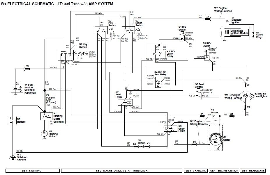 Wiring Diagram For John Deere 112 : John deere parts diagram automotive images
