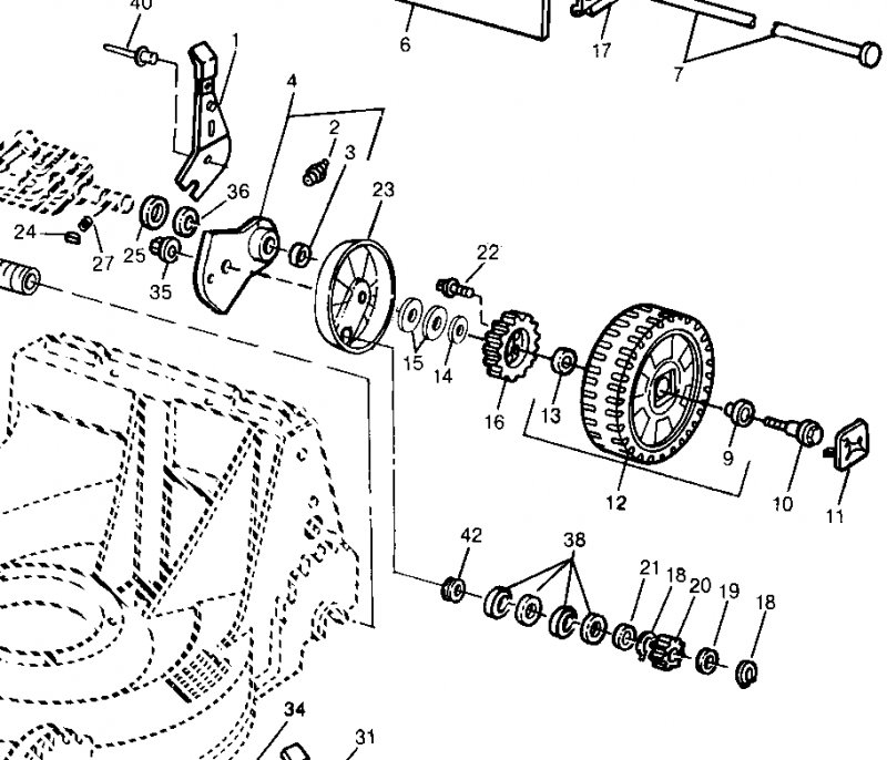 John Deere Sb14 Parts Diagram on john deere 318 parts diagram