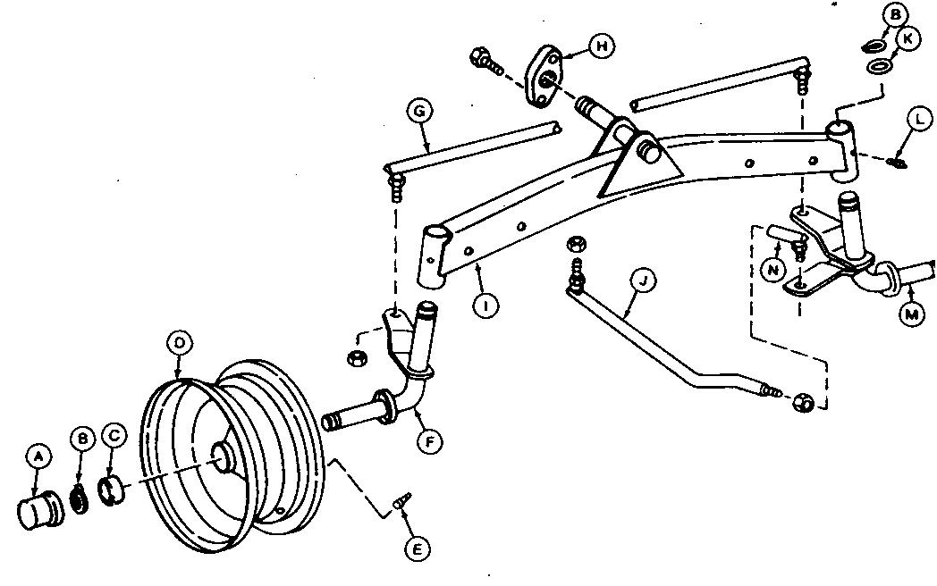 Craftsman 42 Riding Lawn Mower Belt in addition Diagram Of A Lawn Mower Teseh Engine moreover Ignition Wiring Diagram For Farmall 300 Tractor moreover Cub Cadet Lt1045 Parts Diagram as well John Deere Sabre Lawn Mower Deck Belt Diagram. on cub cadet lawn vacuum