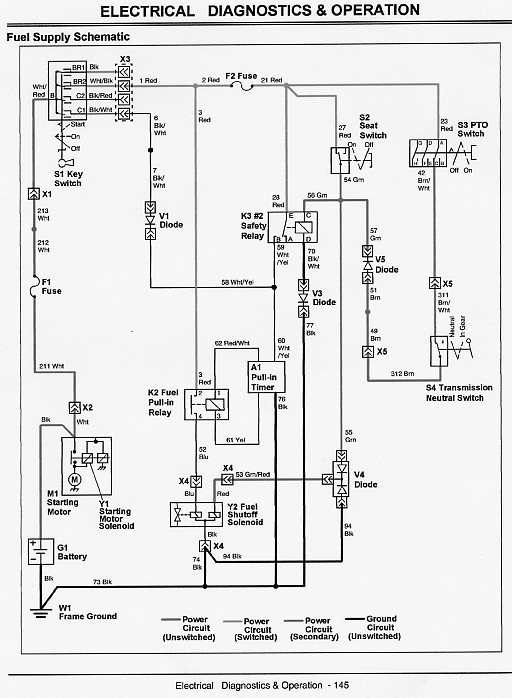 John Deere 790 Electrical Schematic - Troubleshoot Weak Start On regarding John Deere 790 Parts Diagram
