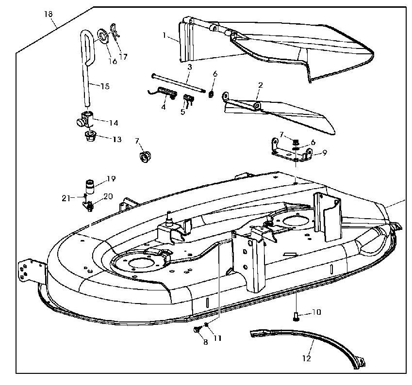 john deere la115 parts diagram