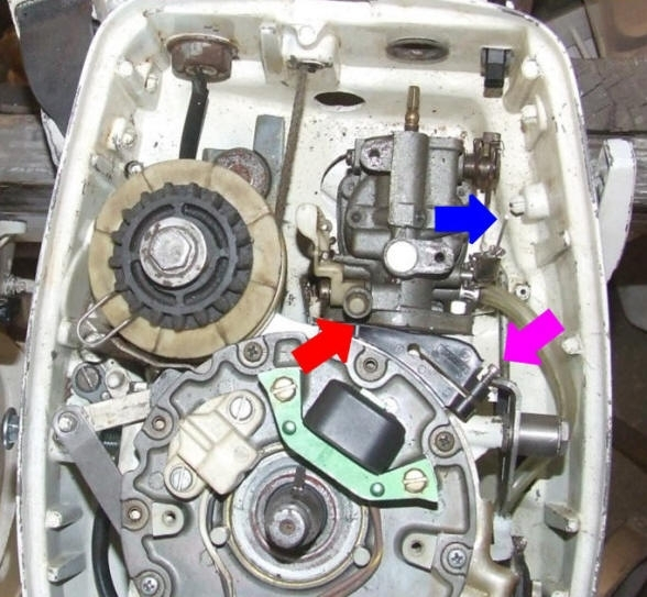 Johnson_Carb intended for 15 Hp Evinrude Parts Diagram