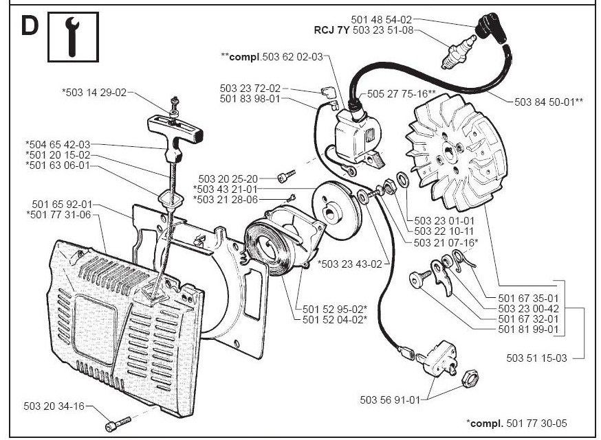 Jonsered 630 Parts Manual Images - Reverse Search with Jonsered 2050 Turbo Parts Diagram
